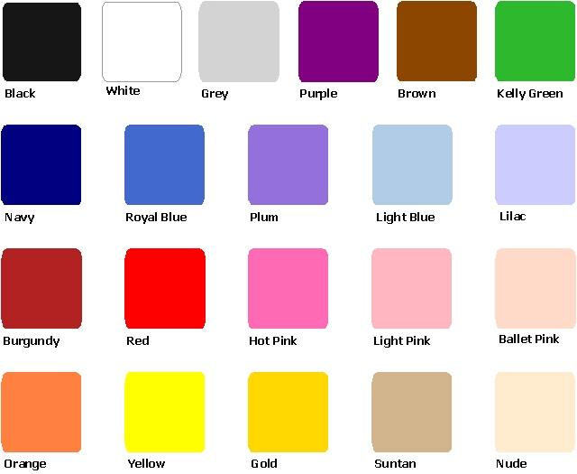 Colours Ltd Nylon Colours Ltd