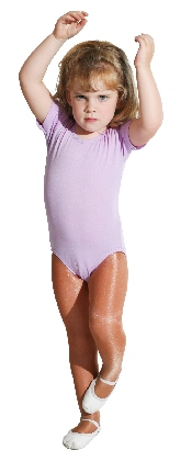 short sleeve scoop neck leotard