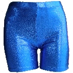 metallic 7 inch shorts front